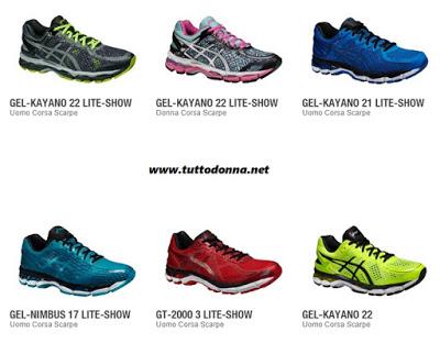 Migliori scarpe Asics running  un marchio dalla fama mondiale ... 2f91f5dd379
