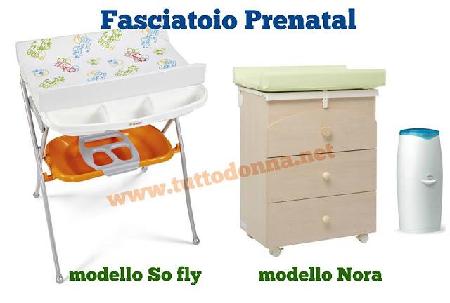 Caratteristiche e prezzi del fasciatoio Prenatal
