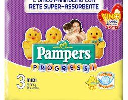 Pannolini Pampers Progressi